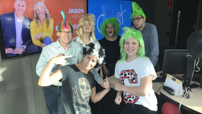 The Coast Team are behind Wig Wednesday!