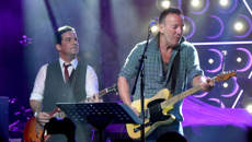 Watch Bruce Springsteen's emotional performance at Asbury Lanes