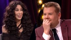 Watch Cher's hilarious appearance on James Corden's show