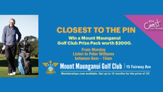 CLOSEST TO THE PIN with Peter Williams
