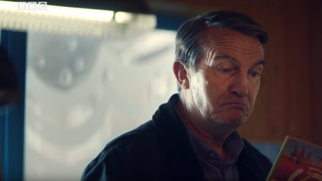 Watch Bradley Walsh's first appearance in the new Doctor Who series