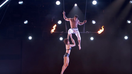 Watch: America's Got Talent trapeze act goes horribly wrong