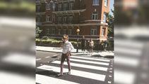 Paul's back on Abbey Road
