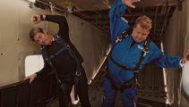 James and Tom go sky diving