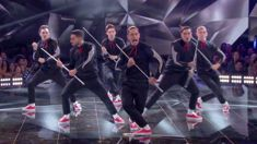 Watch the NZ dance crew 'The Bradas' leave Jennifer Lopez and Derek Hough speechless
