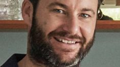 The strange reason behind Clarke Gayford's 'dad beard'