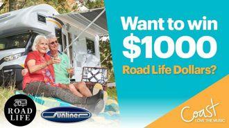 Win $1,000 Road Life Dollars!