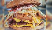 The Arizona Cardinals 7-pound burger challenge