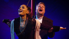 Watch Ariana Grande and James Corden perform the whole Titanic soundtrack