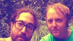 John Lennon and Paul McCartney's sons reunite for a VERY rare selfie