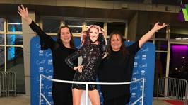 Photos: Celine Dion at Spark arena!