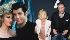 John Travolta and Olivia Newton-John reunite for the 40th anniversary of Grease