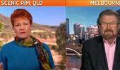 Watch Pauline Hanson tell Deryn Hinch to 'Go back to New Zealand!'