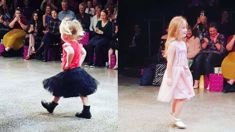 Watch Toni Street's adorable daughters walk the catwalk at New Zealand Fashion Week!