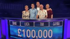 Watch contestants beat Anne Hegerty to the biggest win The Chase's history
