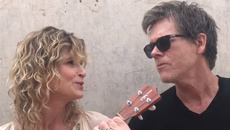 Watch Kevin Bacon and Kyra Sedgwick's adorable 30th anniversary duet