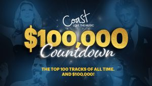 Coast's $100,000 Love The Music Countdown