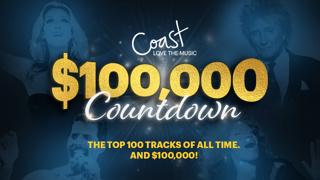 Coast's $100,000 Love The Music Countdown