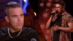 Robbie Williams is slammed online after his 'horrifically disrespectful' question on X Factor