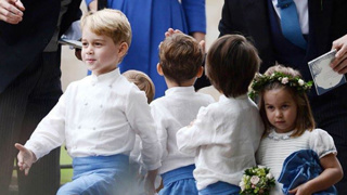 George and Charlotte steal the show
