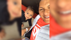 Valerie Adams has learnt the harsh reality of having an adorable baby