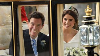 The stunning royal wedding