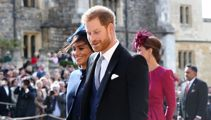Watch: Meghan and Harry's tiff at Eugenie's wedding