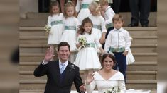 How Princess Charlotte stole the show in this gorgeous wedding snap