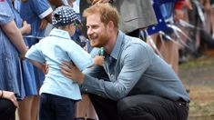 Photographer reveals the adorable story behind Prince Harry's touching moment with little Luke Vincent