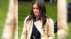 The amazing story behind Meghan Markle's pasta necklace that she wore yesterday