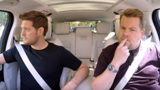 Michael Bublé breaks down when talking about his son's cancer in an emotional carpool karaoke