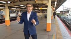 Why John Campbell was dancing for trains