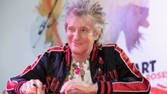 Penny Lancaster shares a rare photo of Rod Stewart with all four of his sons