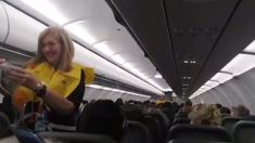 'World's funniest flight attendant' goes viral with his pre-flight safety briefing