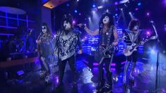 Watch James Corden perform Rock and Roll All Nite with Kiss!