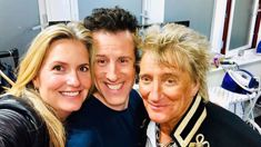 Penny Lancaster shares a snap of Rod Stewart's appearance on the UK's Strictly Come Dancing