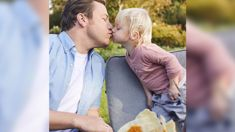 Fans slam Jamie Oliver after Jools shares a picture of him kissing his son