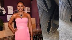 Fans accuse Mel B of lying after she 'fakes' the results of a 'terrifying attack'