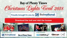 Bay Of Plenty Times Christmas Light Trail