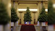 The royal Christmas decorations
