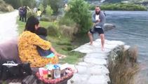 Heartwarming haka proposal and gender reveal