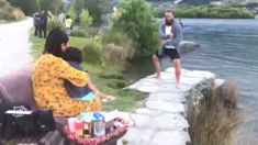 Watch this Kiwi dad's incredible haka proposal and gender reveal in Queenstown