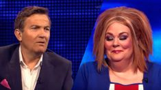 Bradley Walsh hilariously mocks Anne Hegerty's costume in The Chase's Christmas special