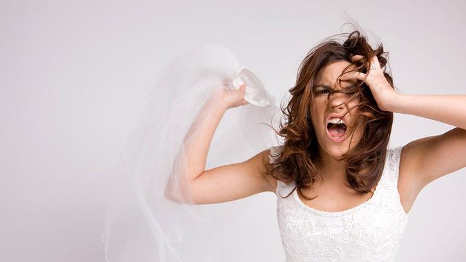 Bride's expensive dress code