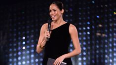 Meghan Markle's stunning surprise appearance at the British Fashion Awards