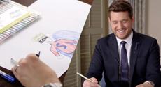 Michael draws for sick Kiwi kids