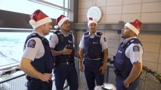 The New Zealand Police release an incredible Christmas mashup