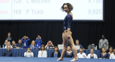 Incredible gymnast stuns internet