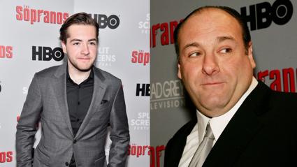 James Gandolfini's son, to play young Tony Soprano