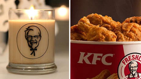 Smell KFC's new gravy scented candle!